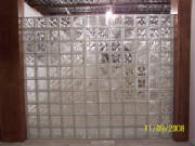 Block glass wall done by Kevin Holler at Holler Glass Block Quick set panels Minneapolis St Paul 11507.jpg blockglass company minneapolis2.JPG