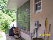 Block glass wall done by Kevin Holler at Holler Glass Block Minneapolis St Paul blockglass company minneapolis .JPG.JPG