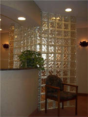 Block glass wall done by Kevin Holler at Holler Glass Block Minneapolis St Paul blockglass company minneapolis.jpg