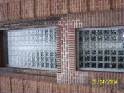 Block glass wall done by Kevin Holler at Holler Glass Block Minneapolis St Paul blockglass company minneapolis1.JPG quick set panels twin cities glass block