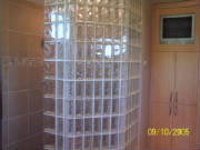 Block glass wall done by Kevin Holler at Holler Glass Block Minneapolis St Paul blockglass company minneapolis1.JPG