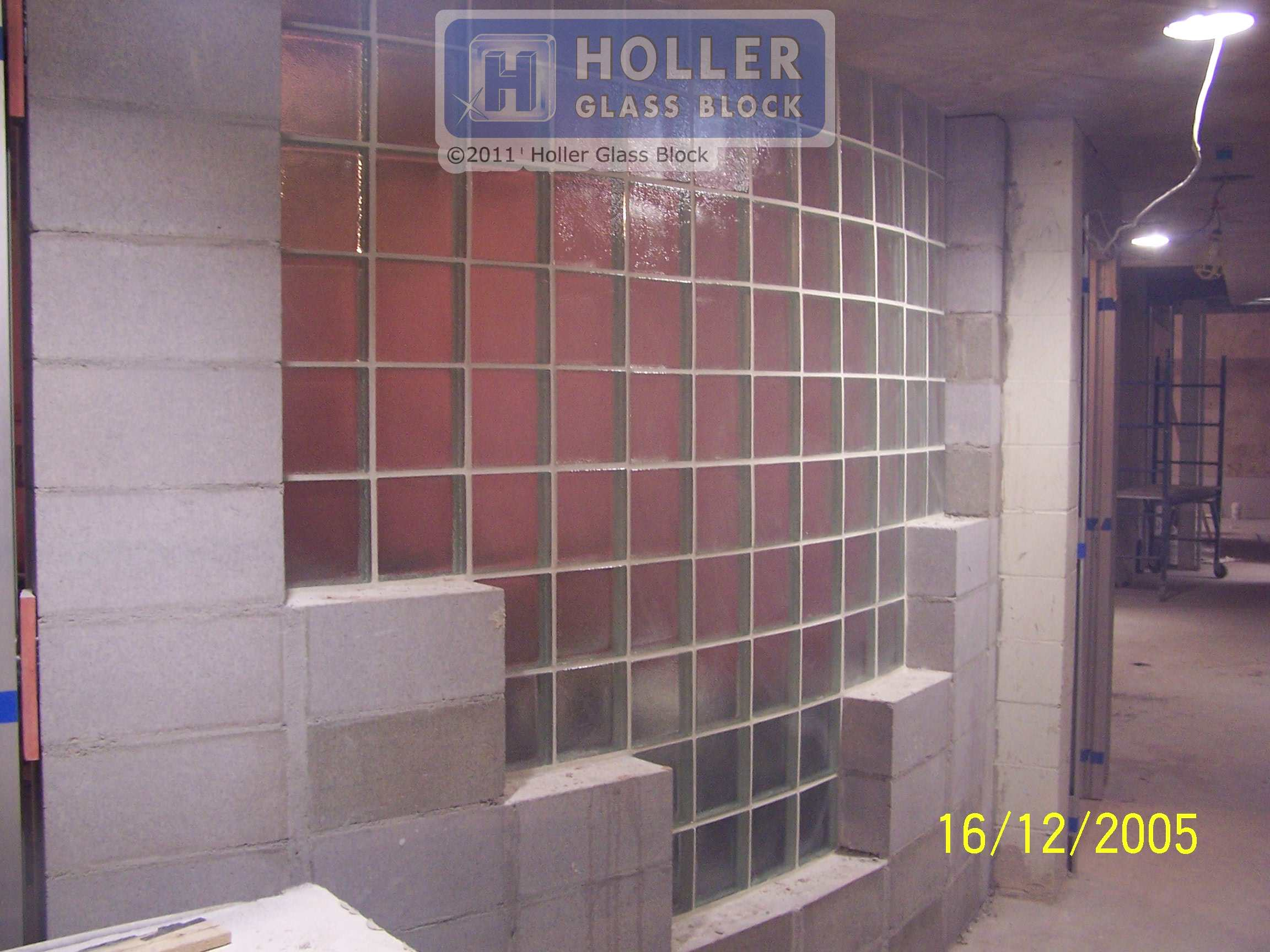Kevin Holler of Holler Glass Block stands behind all of his work.  Holler Glass Block installation company builds and installs glass block windows, glass block shower walls, glass block bars, and anything made of glass block; Glass block installation services for Minneapolis St. Paul Twin Cities area; glass block projects include bathroom remodels, new construction; kitchen windows, basement windows, commercial glass block, glass block bars, glass block bathroom windows; .JPG